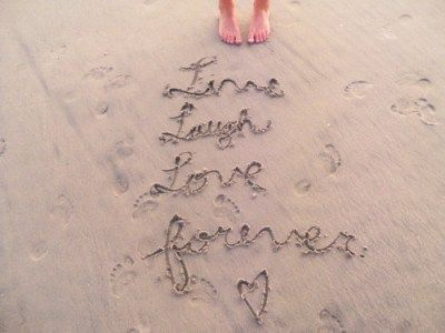 Live Laugh Love Forever Super Quotes I Love The Beach Tattoo Quotes