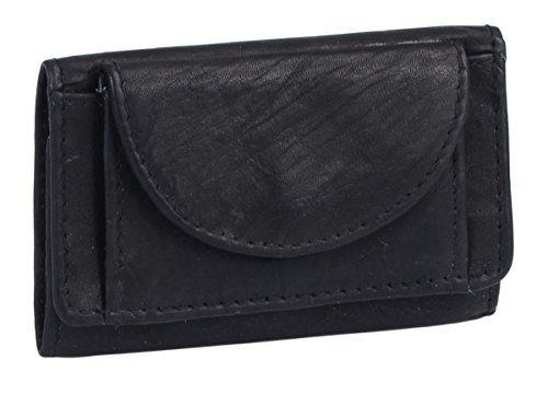bed80543044f5 Kleine Minibörse LEAS in Echt-Leder schwarz - LEAS Mini-Edition. aus  hochwertigem