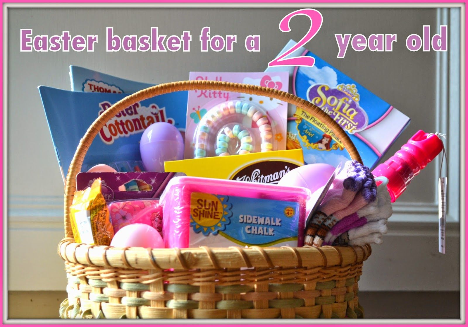 Easter basket ideas for a two year old hip hip holiday pinterest easter basket ideas for a two year old negle Images