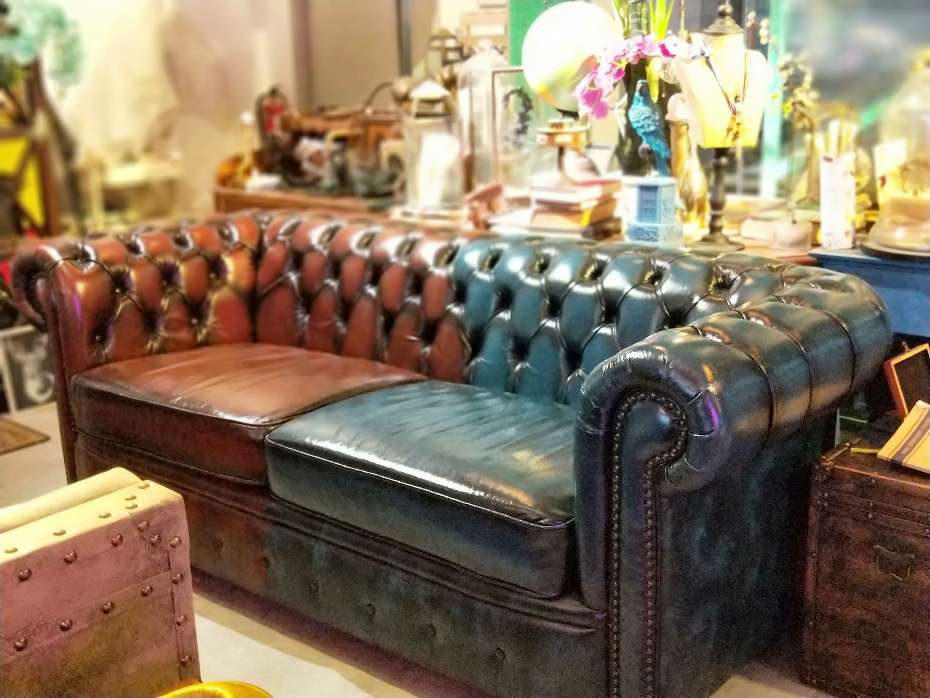Chesterfield Leather Sofa Brown Shade Vintage Leather Sofa Leather Sofa Leather Chesterfield Sofa