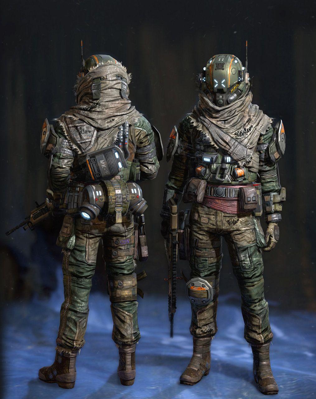 artstation titanfall militia changgon shin mech