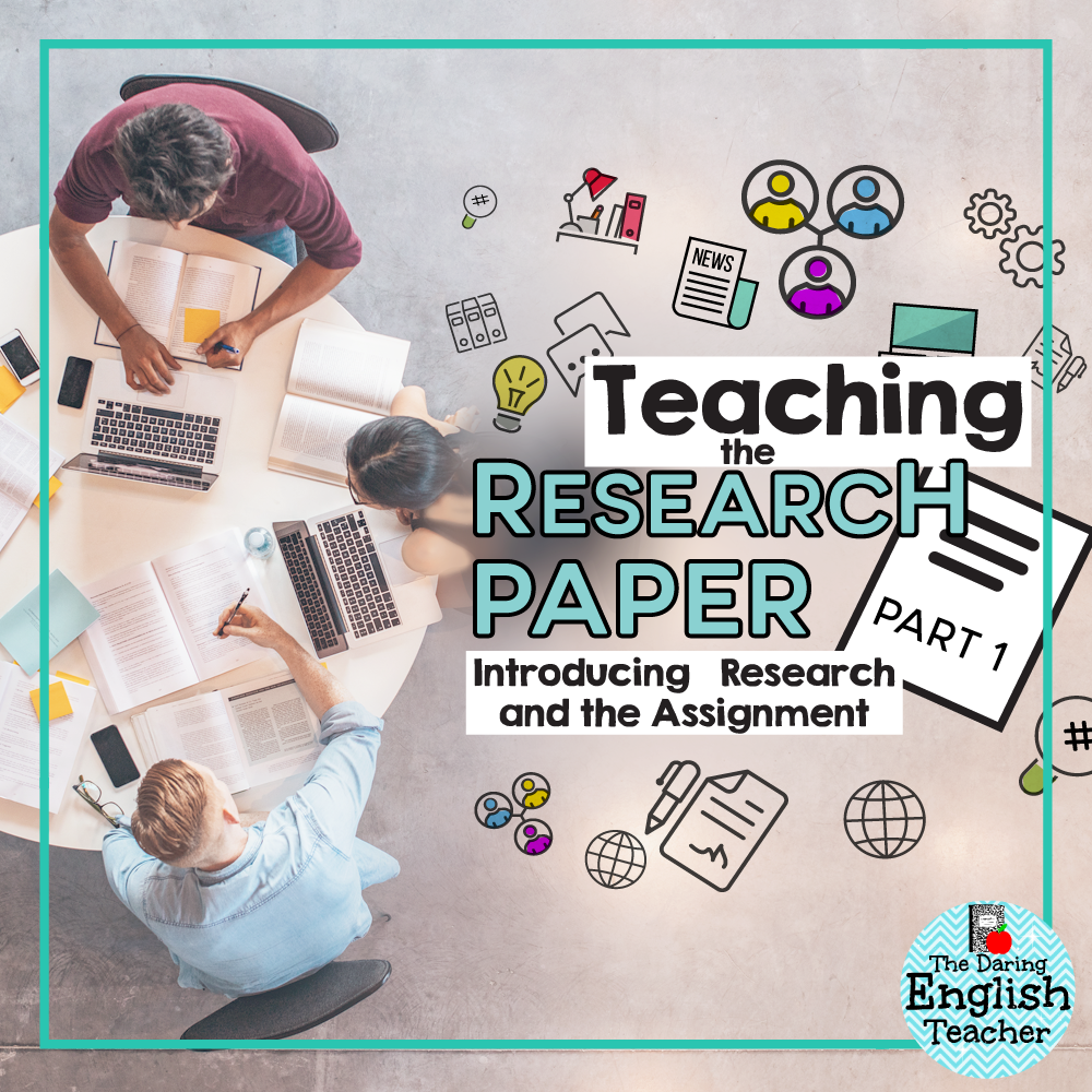 Teach research paper high school thesis on academic stress