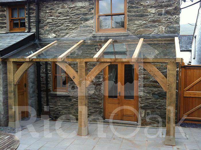 Oak With Glass Porch Rich Oak Dot Com Garden