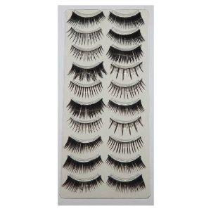 70 Pairs False Eyelashes Bundle Set - Includes 7 Different Styles $15.99