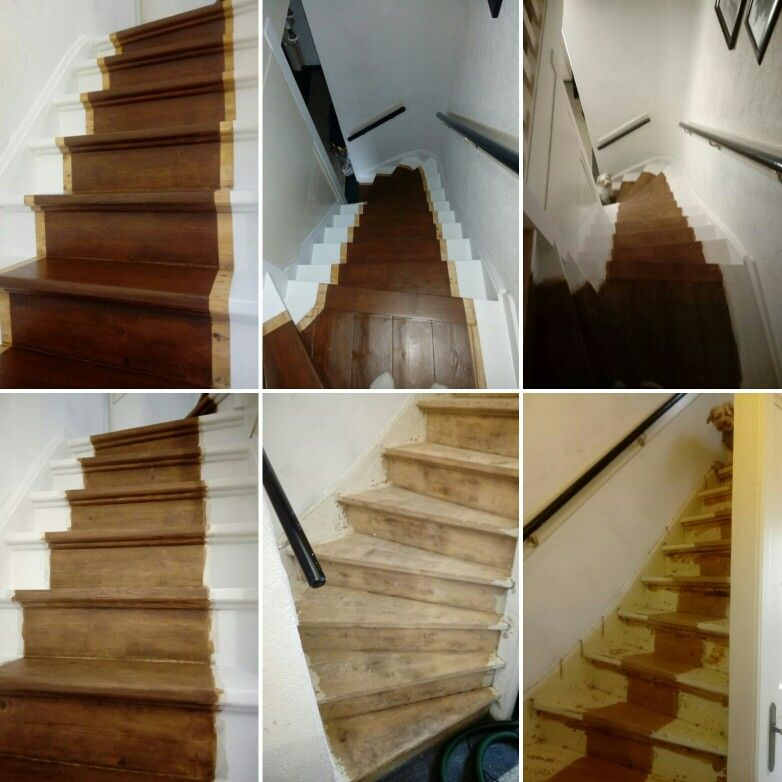 How I renovated my 1935 stairs.