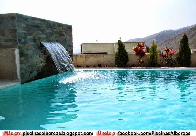 Piscina temperadas como temperar el agua de una piscina for Disenos de cascadas para piscinas