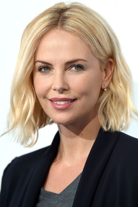 The 10 best summer haircuts to inspire your next trip to the hair salon: Charlize Theron's blunt bob