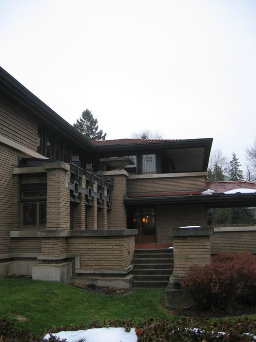 Meyer May House 1909 Grand Rapids Michigan Prairie Style Frank Lloyd Wright Frank Lloyd Wright Design Architecture Architecture House