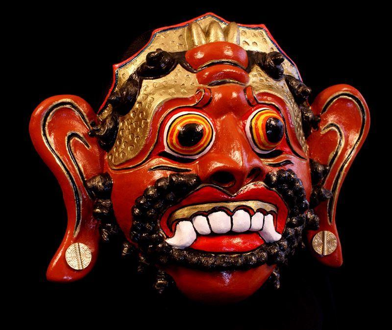 Rawana Mask