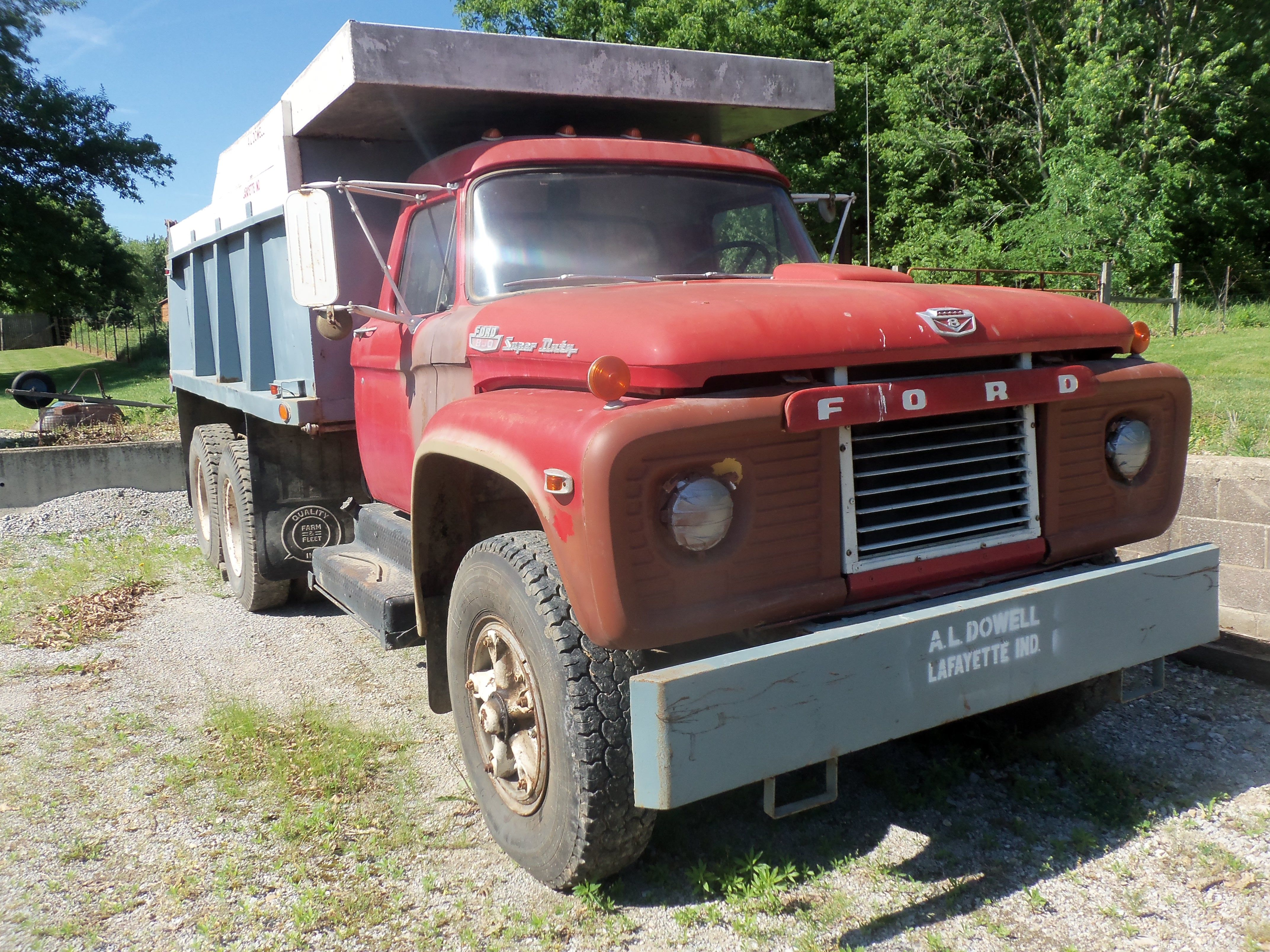 1966 Ford 850 Super Duty Dump Truck My Pictures Pinterest 1954 Toy Trucks Big Rig