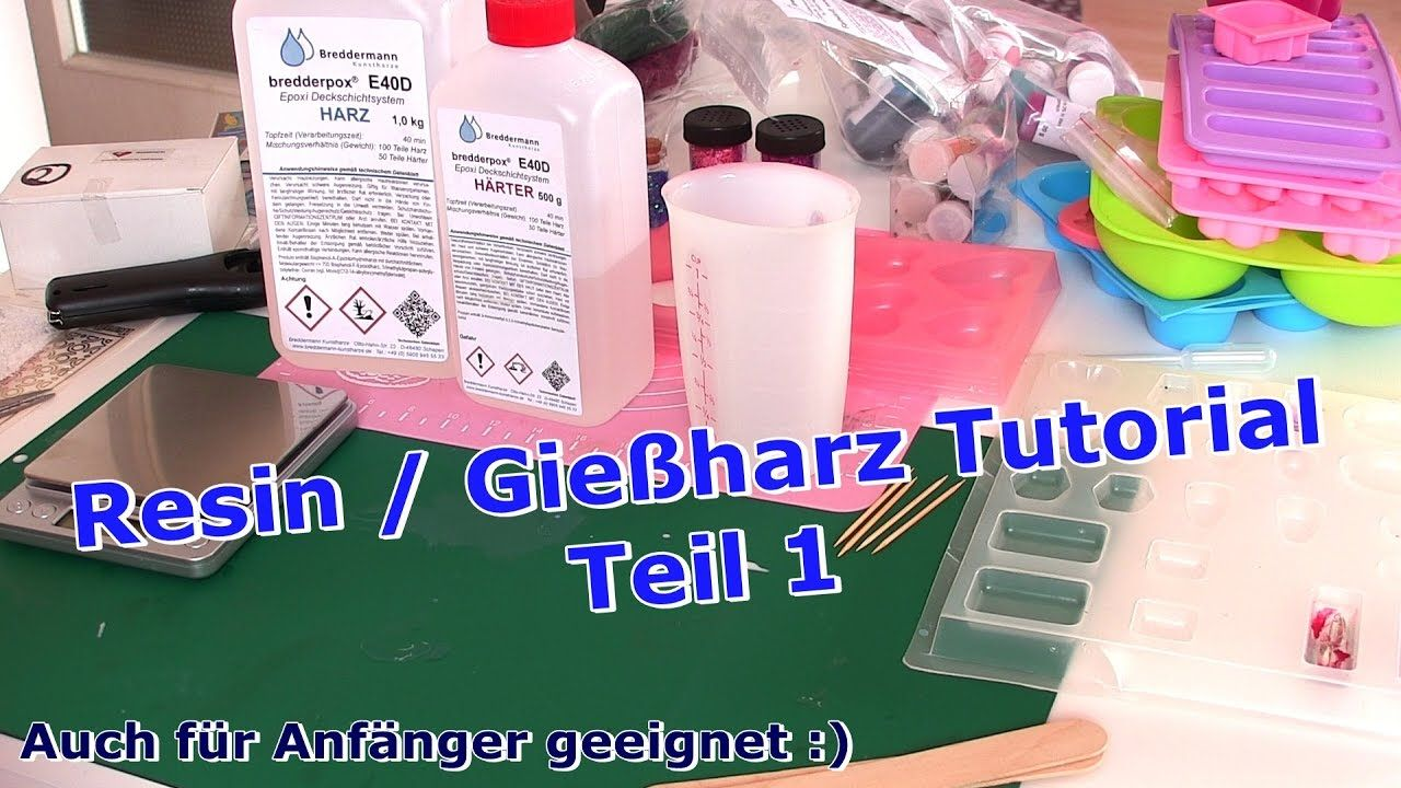 resin gie harz tutorial deutsch diy teil 1 resin tutorials ideas gie harz schmuck. Black Bedroom Furniture Sets. Home Design Ideas