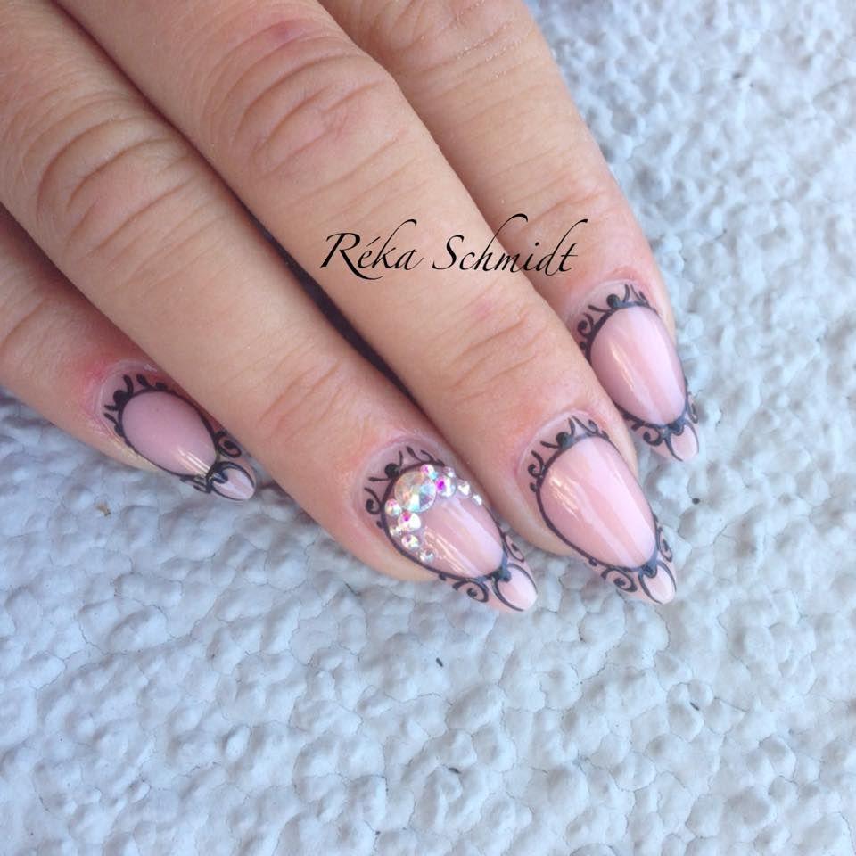 Attraktiv Fingernägel Motive Sammlung Von #crystalnails #nägel #nagelstudio #nailart #muster #gelnägel #babyboomer