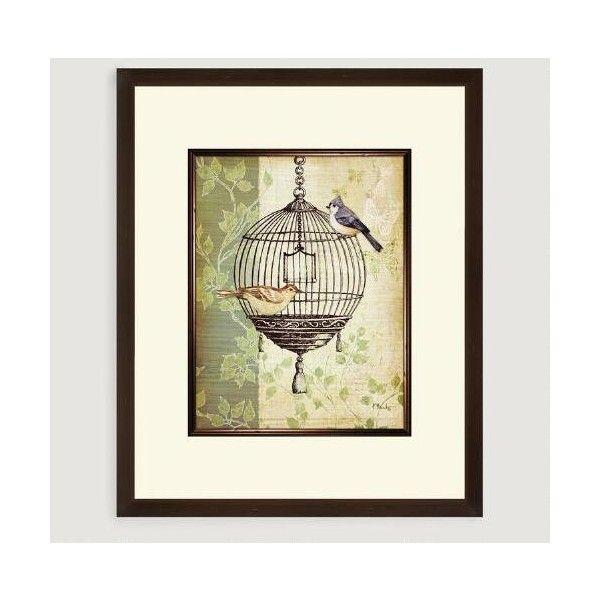 Cost Plus World Market Botanical Birdcage I ($50) ❤ liked on ...