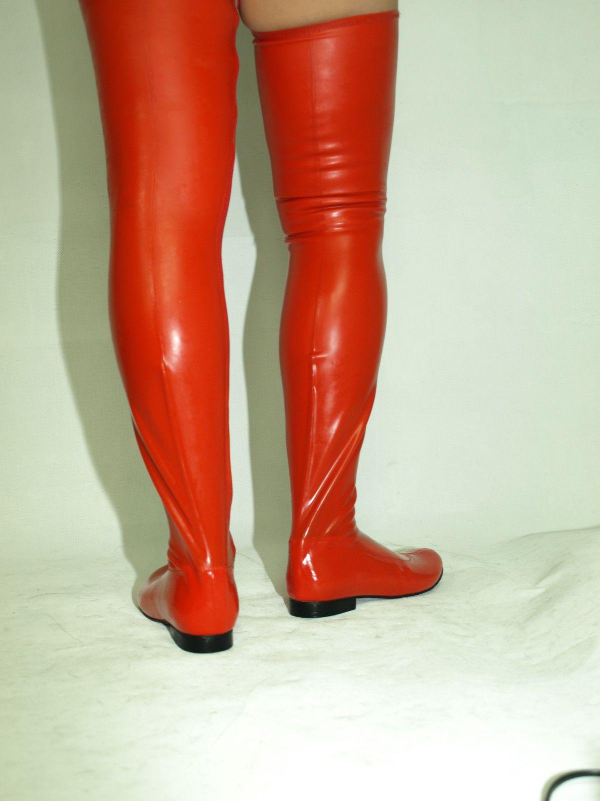 Rtbu Chris Hard Shaft Customized Crotch Hi 18Cm Stiletto Boot