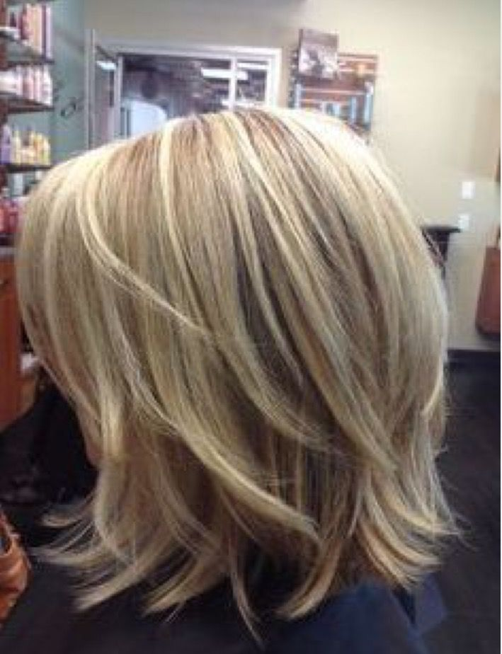 Shaggy Blonds Hair Styles Medium Layered Hair Medium Length Hair Styles