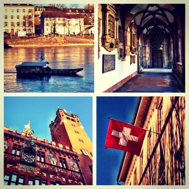 Basel is a walking city - historic, artistic & glorious in the sunshine! #inbasel