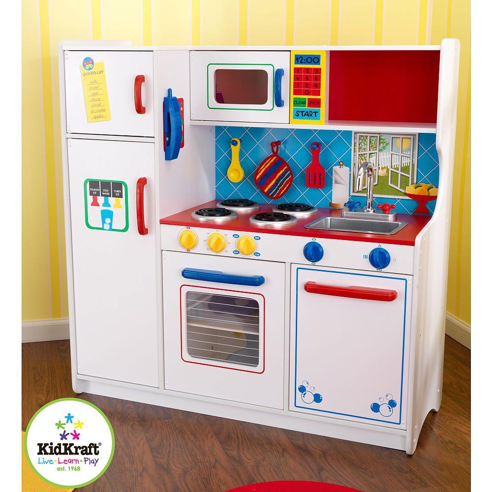 Kidkraft deluxe letus cook kitchen kidkraft toys