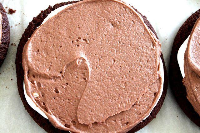Cutler's Brownie Marshmallow Cookies #chocolatemarshmallowcookies