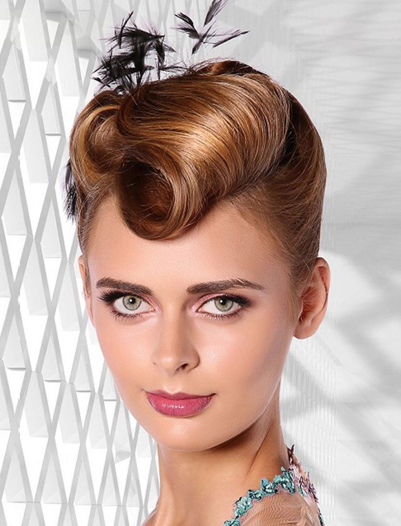 Updo Hairstyles For Round, Square Oval Faces 2018 - 2019 | Hair updos, Hair styles, Rectangle face