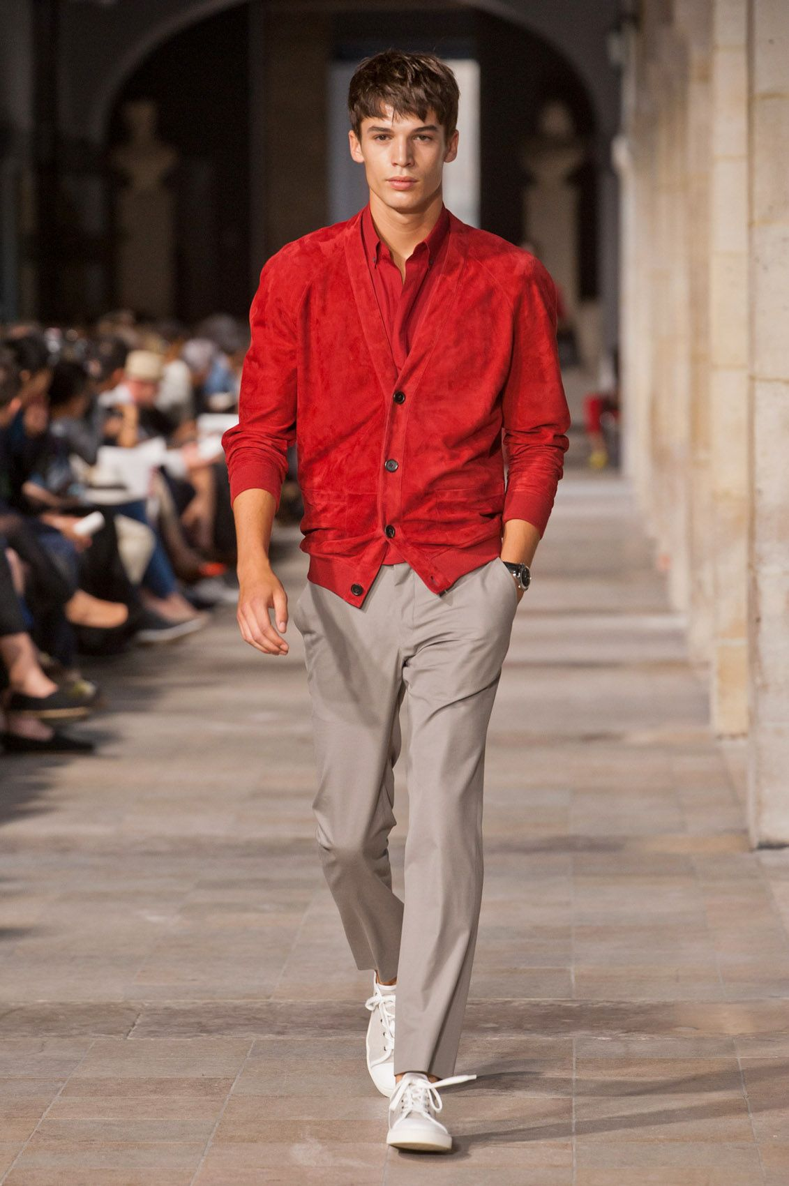 Hermes men Summer 2013 - adorei o look!!!