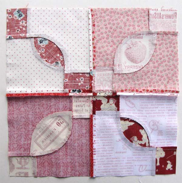 Rose Dream Quilt Block.Vintage Block Quilt Along Block 1 Rose Dream Quilting