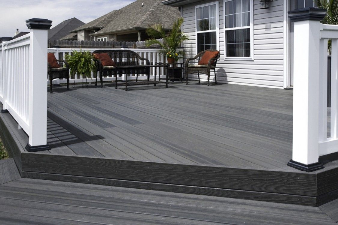 Composite Decks Are Make From Recycled Materials And A