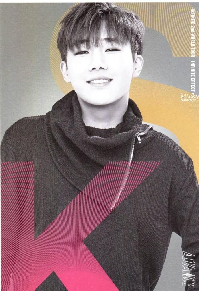 160223 INFINITE EFFECT ADVANCE Official Goods Post Card - INFINITE Sunggyu