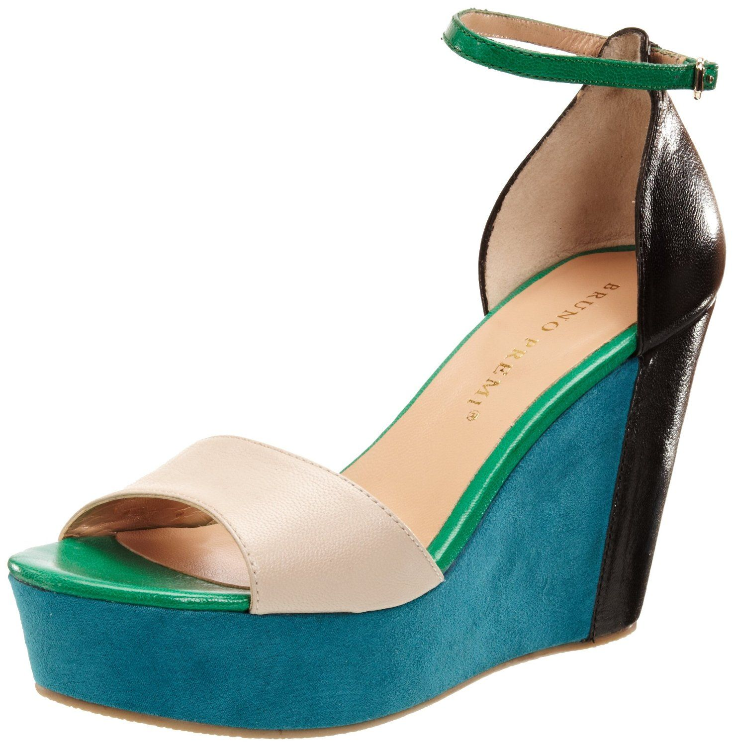 Perfect For The Upcoming Spring: Bruno Premi Womens Capra Wedges
