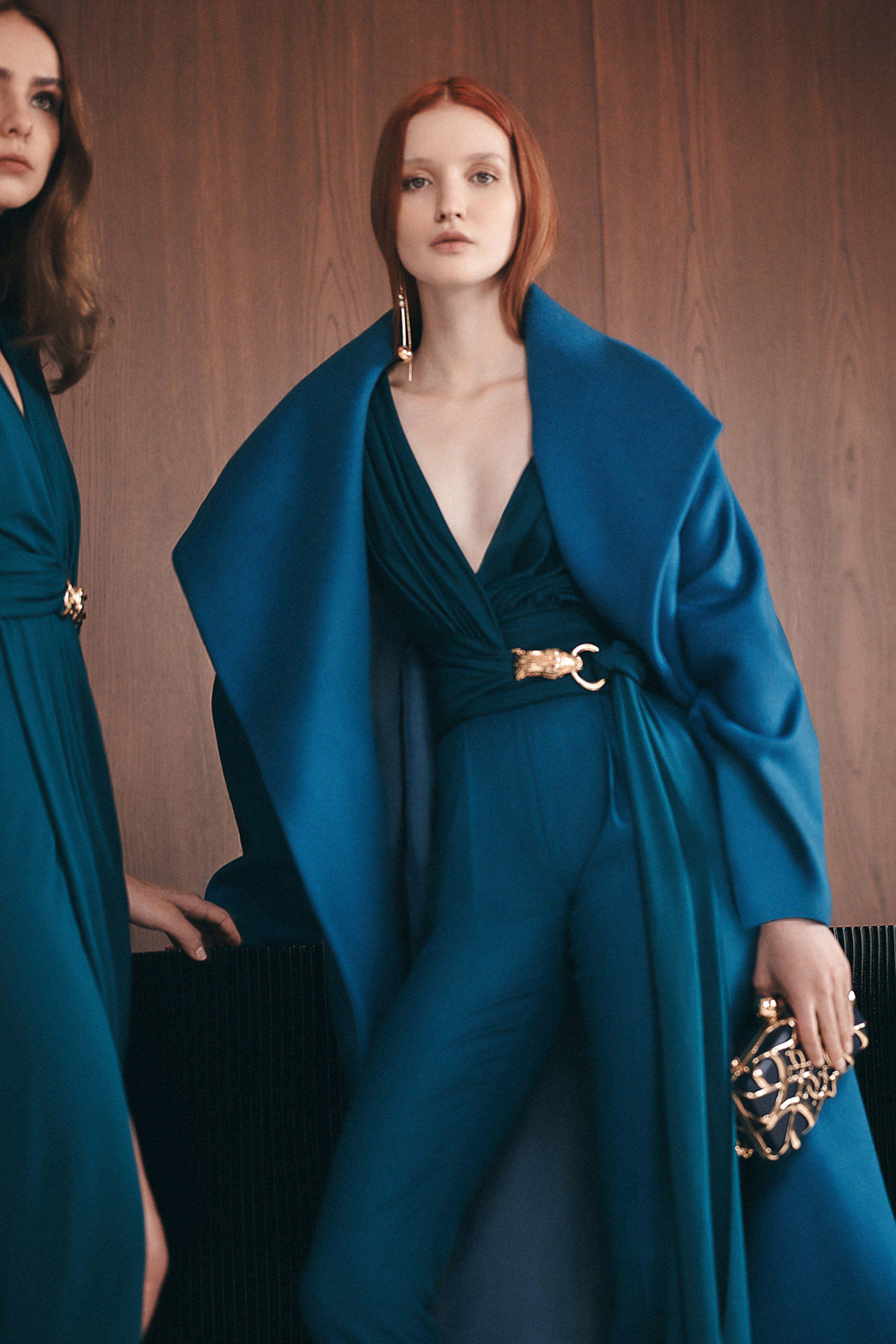 Elie Saab Pre-Fall 2019 Fashion Show #2019fallfashiontrends