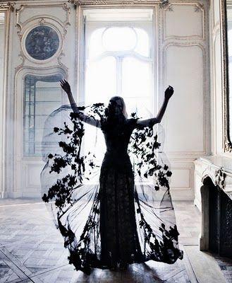 #black #lace