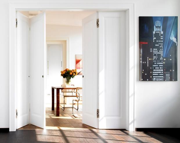 t ren und faltt ren aus glas metall holz ideen f r die k che die k che und raumtrenner. Black Bedroom Furniture Sets. Home Design Ideas