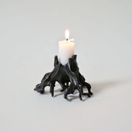 Photo of Dear Swallow – Tree Stump Candle Holder