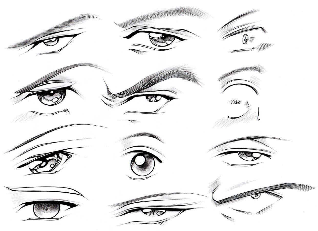 How to Draw Male Eyes (Part 2) Manga University Campus