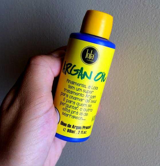Feirinha Chic Argan Oil Lola Cosmetics Oleo Levinho Com Argan