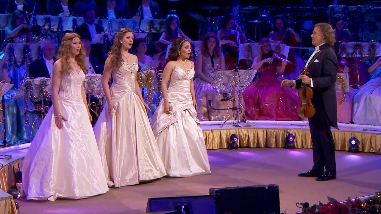 André Rieu - O Holy Night - The best gift ever given to fallen mankind: God gave his Son. The ...