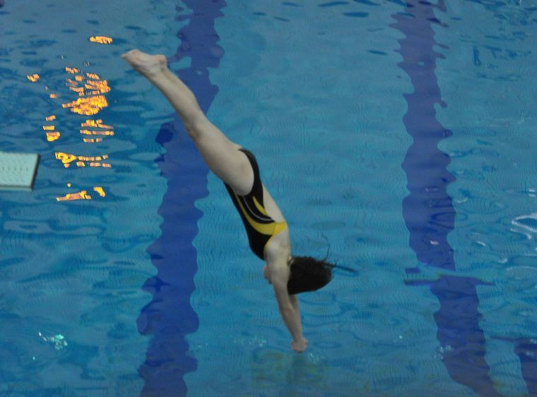 Former diving champion coaches Newark freshman to state title [Newark Post: March 11, 2014]