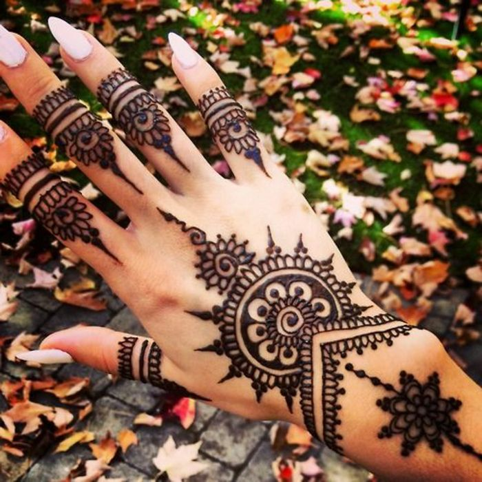 1001 Ideas De Tatuajes De Henna Temporal Para Mujeres Tatoo
