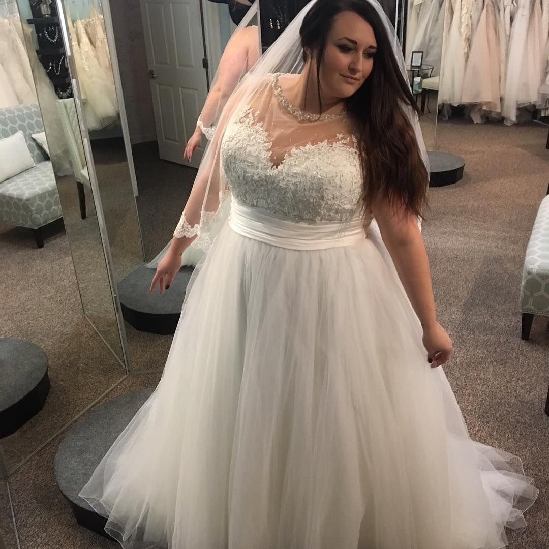 Plus Size Bridal Gowns custom made to order for Curvy Brides by ...
