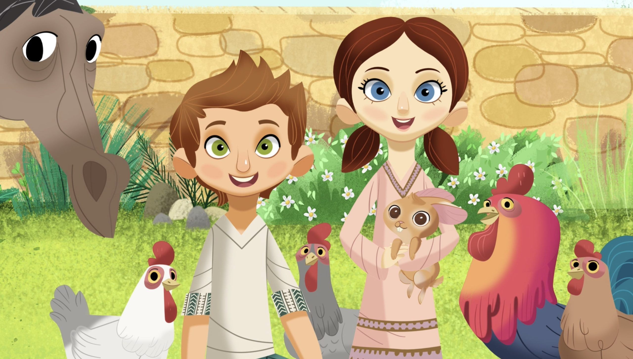 Aya and Yusuf Animated Kids Series
