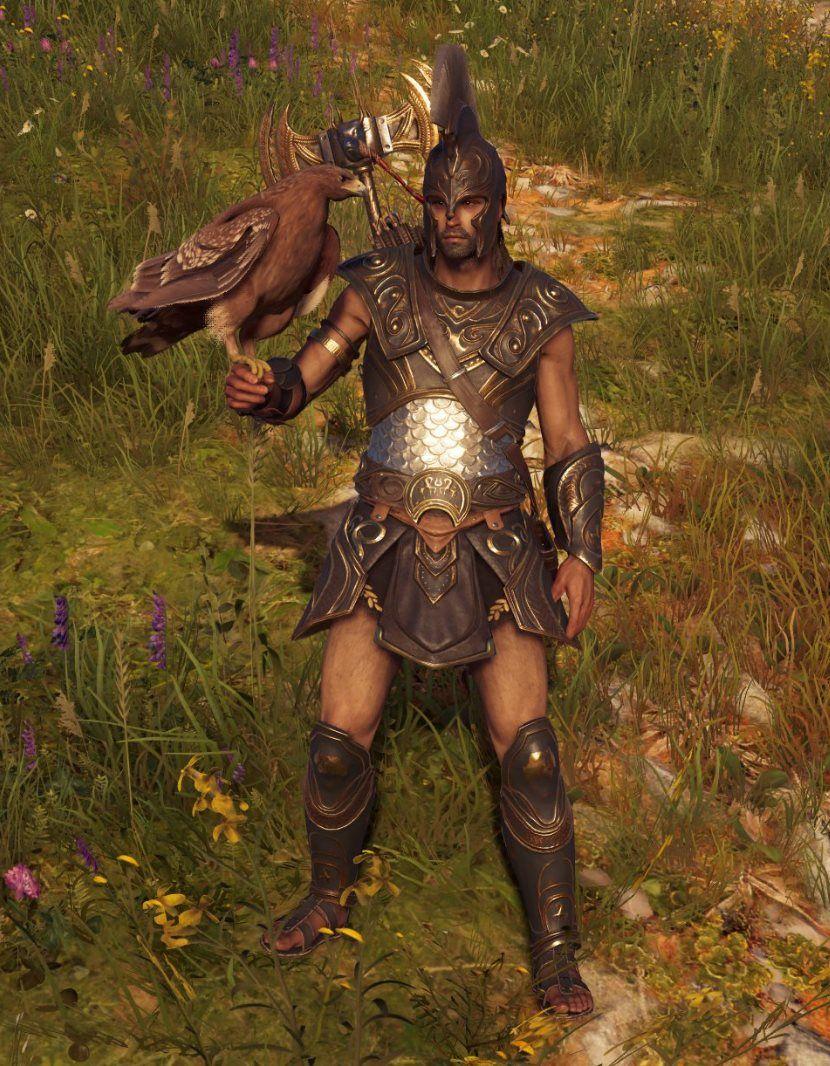 assassins creed odyssey kassandra armor sets