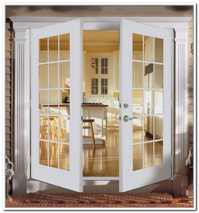French Doors Exterior Outswing Photo 3 Addition Pinterest