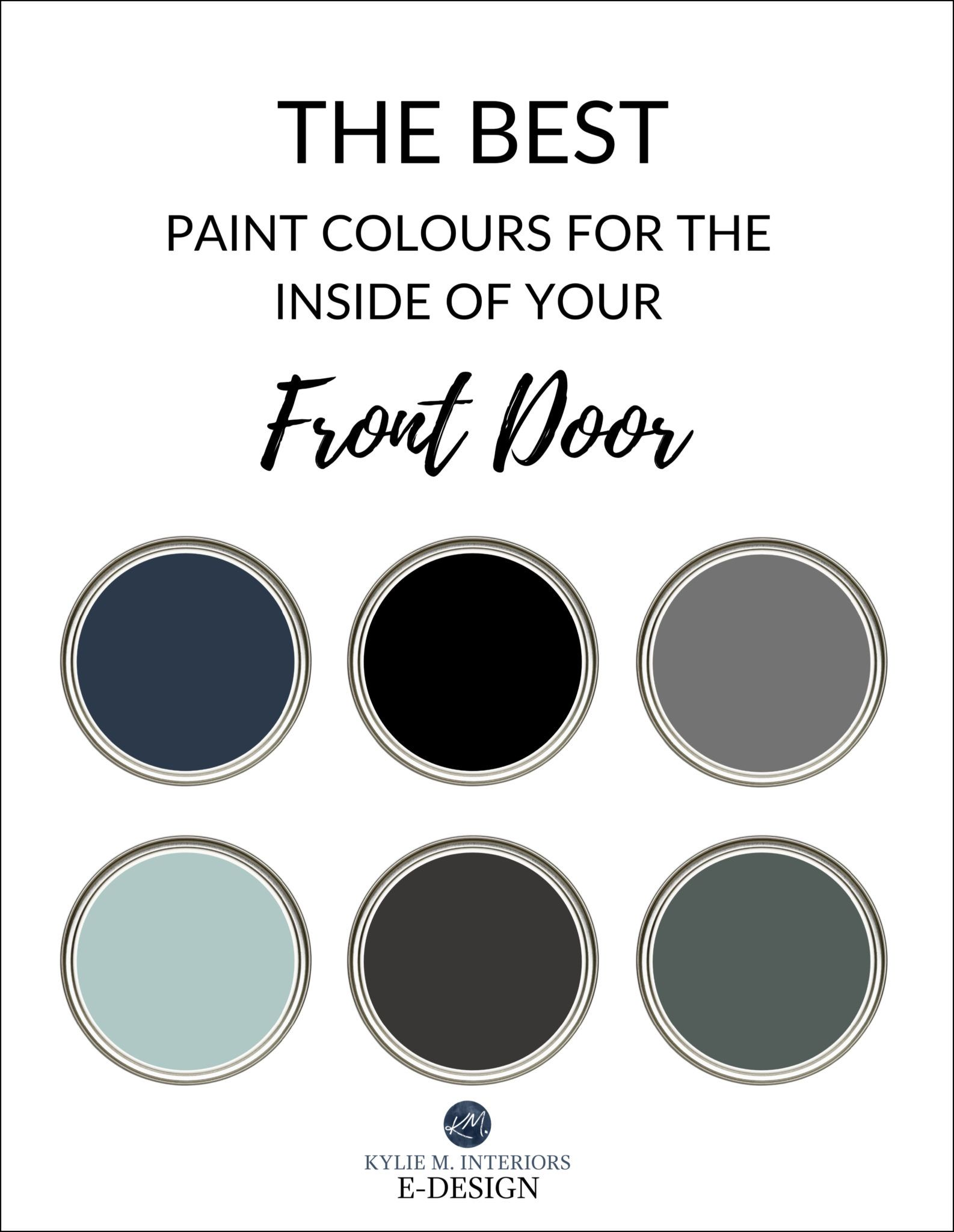 The Best Colours to Paint the Inside of Your Front