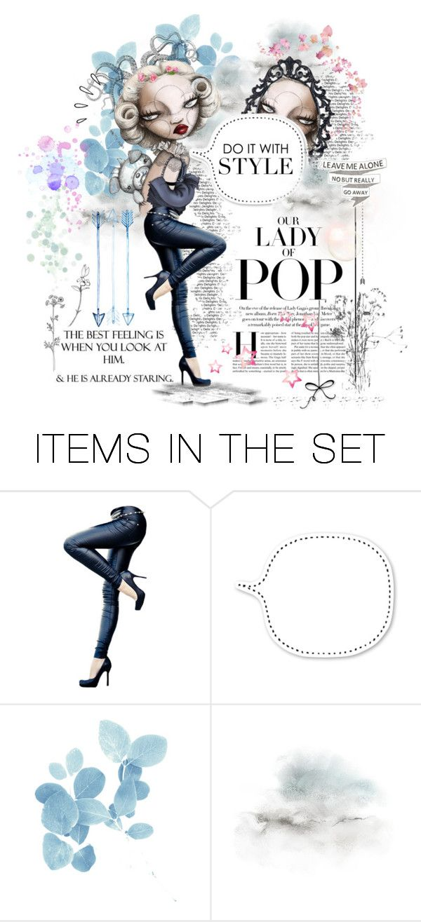 """● BABY DOLL / Do it with style"" by paty ❤ liked on Polyvore featuring art"
