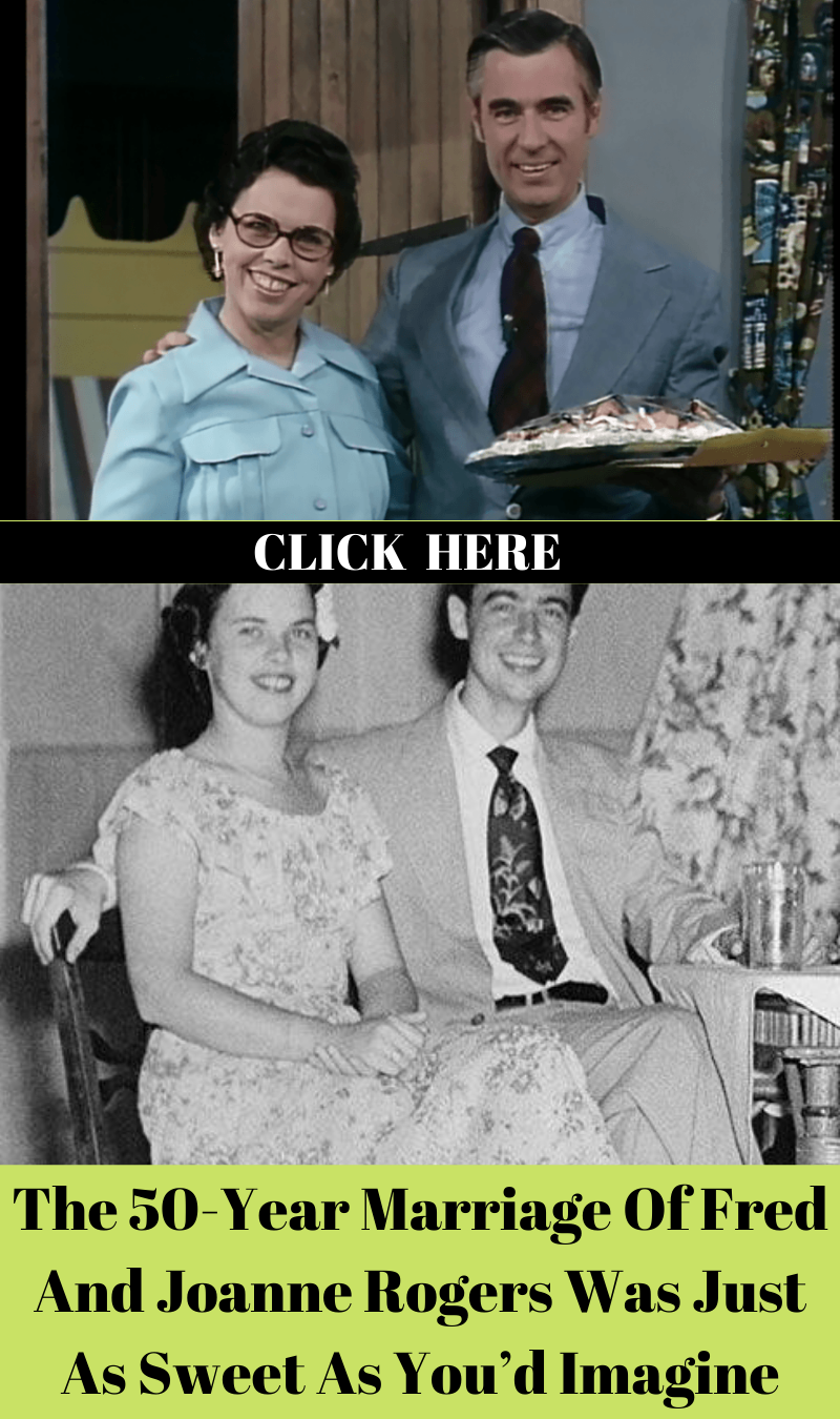 The 50 Year Marriage Of Fred And Joanne Rogers Was Just As Sweet As You D Imagine In 2020 Mister Rogers Neighborhood Rogers Marriage