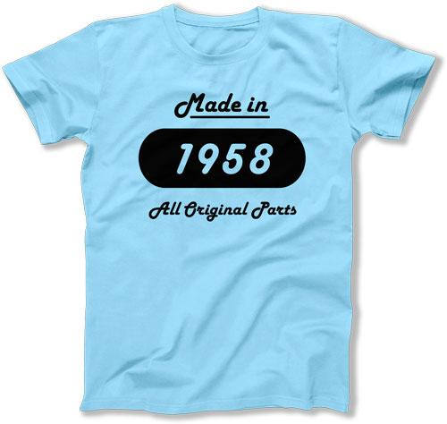 60th Birthday Gifts For Him Custom Shirt T Bday Present Her Made In