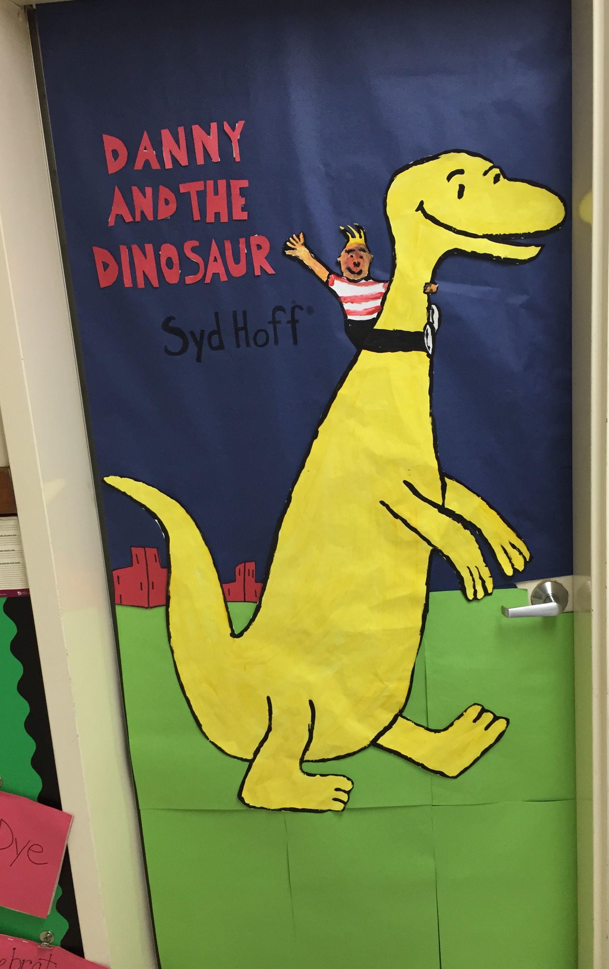 Danny and the dinosaur door design.