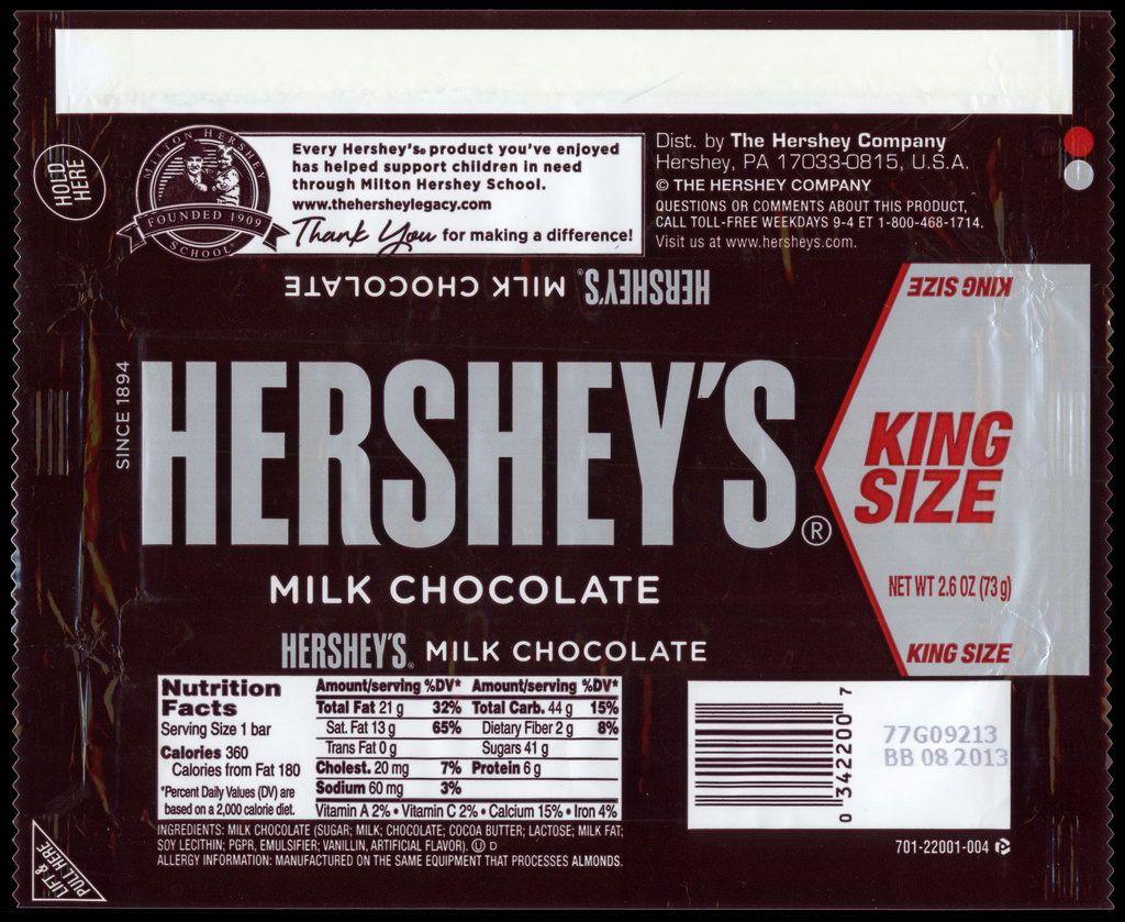 Hershey Candy Packaging Hershey