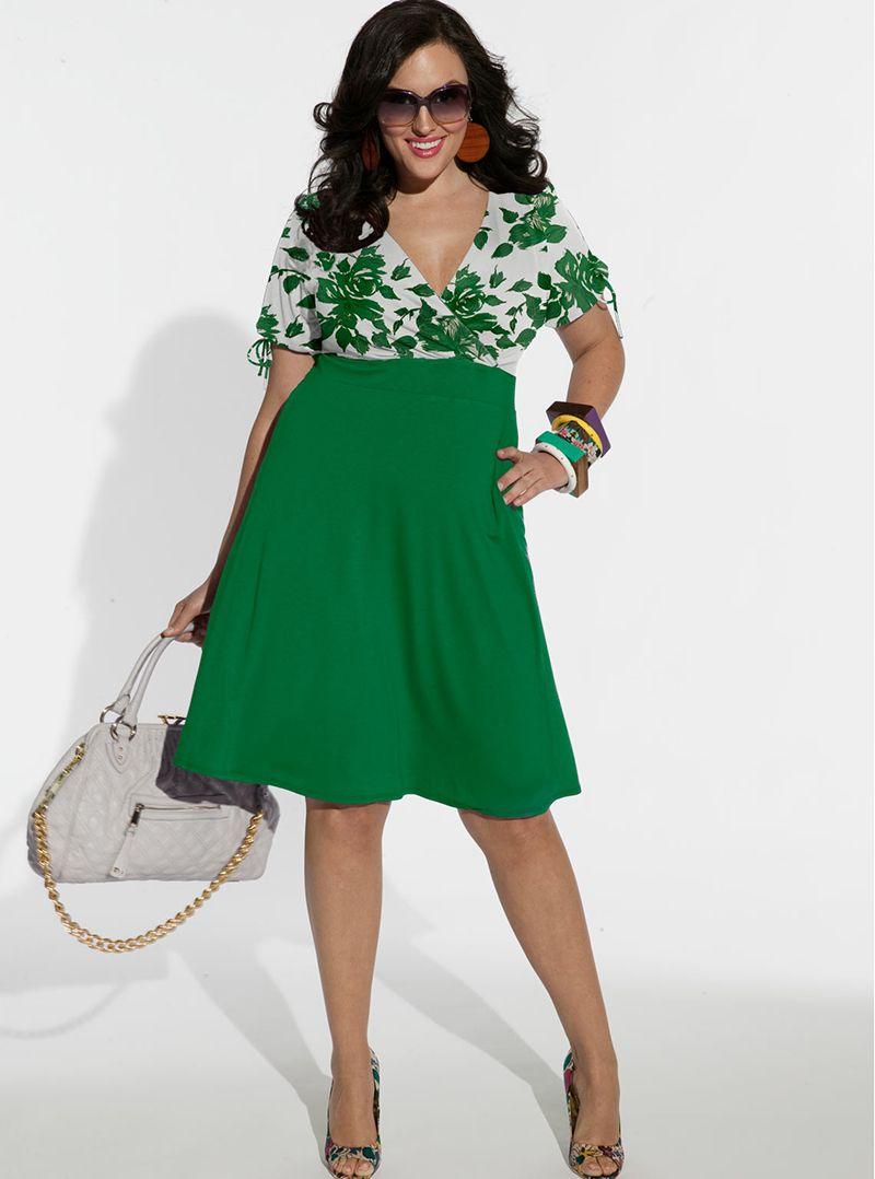 a87aee10f71 Платья для полных женщин  20 идеальных фасонов