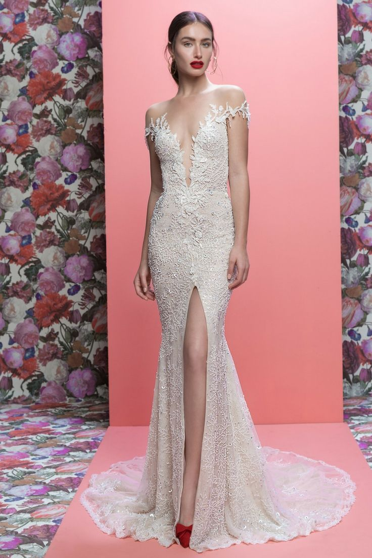The intricate detailing of the #Marleigh wedding gown from our new ...