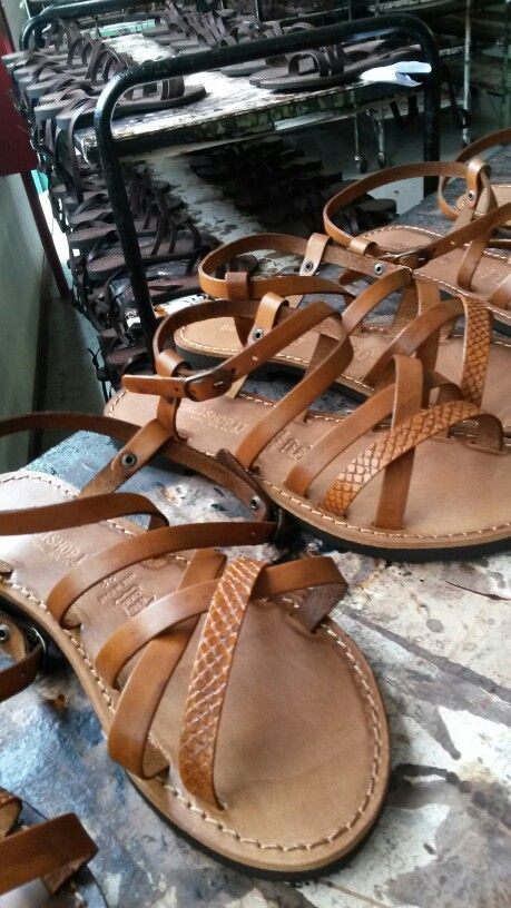 Our leather sandals